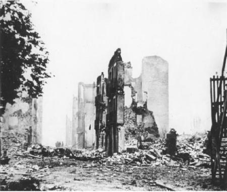 Bombed Building Guernica