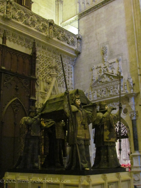 Columbus Tomb Giralda Cathedral