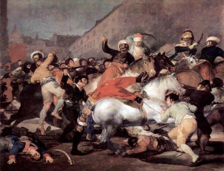 Francisco de Goya Segundo de Mayo 1808 Second of May