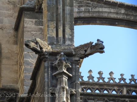 Gothic Detail Giralda Cathedral