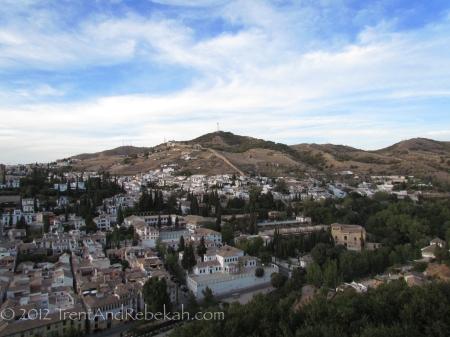 Granada Moorish Quarter Alhambra