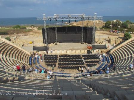 Herod Theater Caesarea