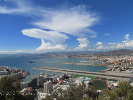Britain Gibraltar Airstrip