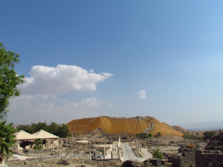 Bethshan Bet-she'an Tel Bet She'an Scythopolis Saul