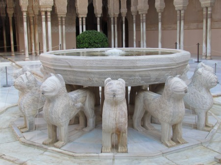 Patio of Lions Leones Alhambra