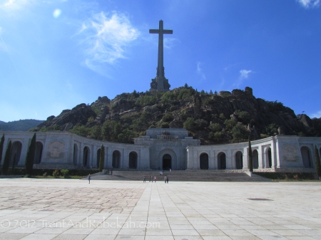 Valle de Caidos Valley of the Fallen Franco Spanish Civil War