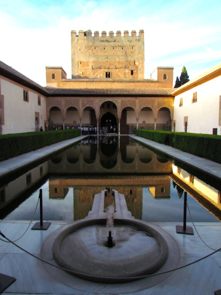 Water Feature Alhambra Fountain