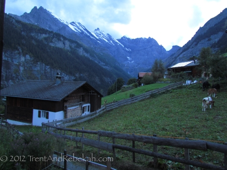 Gimmelwald WindowView