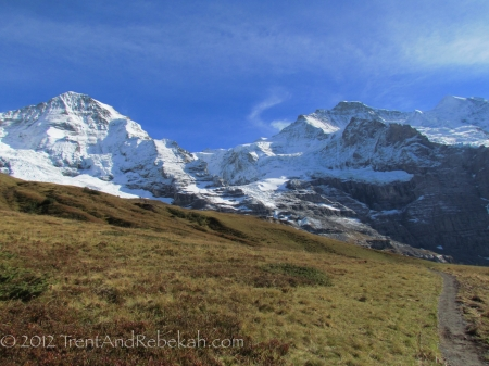 Jungfrau from Valley