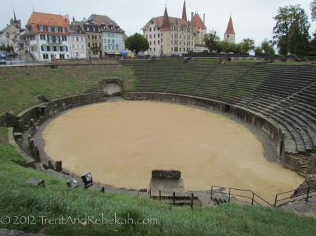 Roman Theater Avenches Aventicum