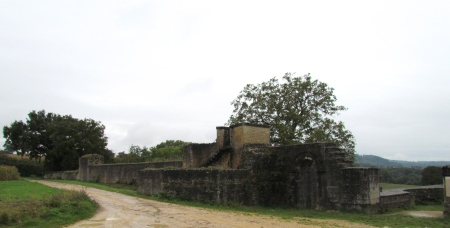 Roman Wall and Aqueduct Aventicum