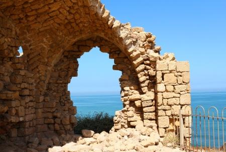 Crusader Arch, Ashkelon