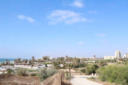 Modern Ashkelon from Tel Ashkelon