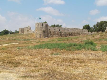 Ottoman Fortress at Tel Afek