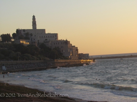 Jaffa in the Evening
