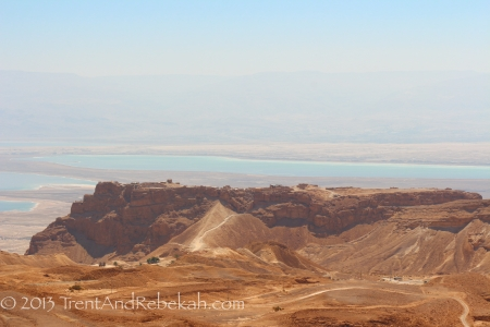 Masada with Roman Siege Ramp