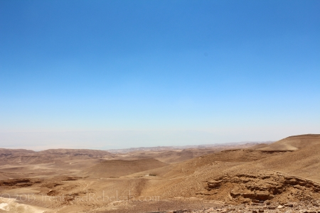 View of Makhtesh Ramon