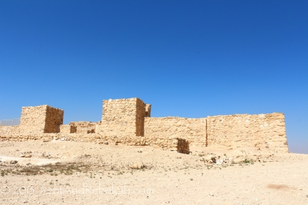 Israelite Fortifications at Arad