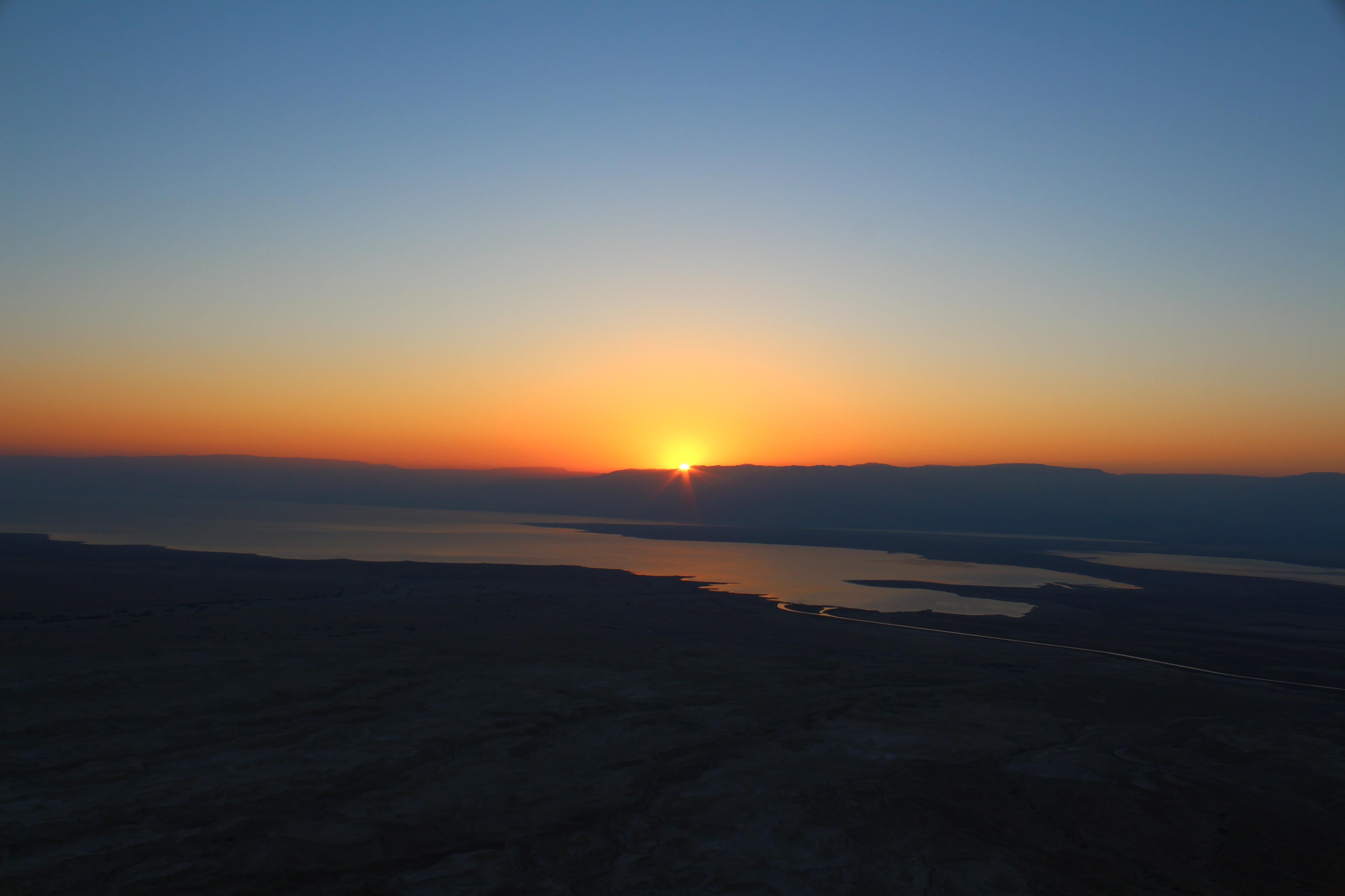 Masada Sunrise   Trent...