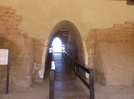 One of the oldest archways known to history (partially reconstructed).